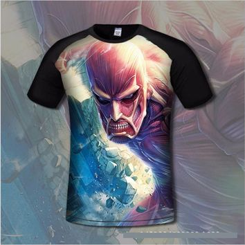 Attack On Titan 3D Style T-Shirt (10 Styles)