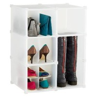 6-Section Shoe & Accessory Grid | The Container Store