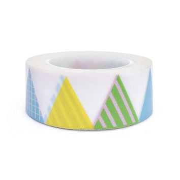 Fun Party Pennants and Banners Design Paper Washi Tape, 20mm x 10 yards: Love My Tapes