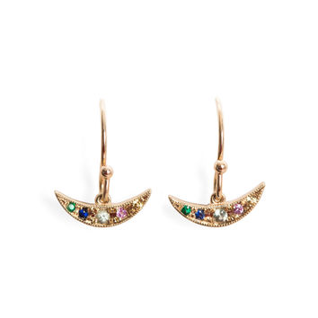 Rainbow Balance Earring, Single - Catbird