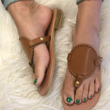 Spring Vacation Sandal - Brown