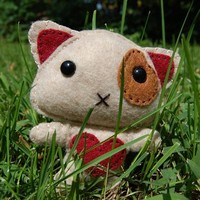 Love Kitten - Made to Order - Handmade Crafts by The Feltery