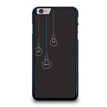 BLACK LIGHT BULBS MINIMALISTIC iPhone 6 / 6S Plus Case