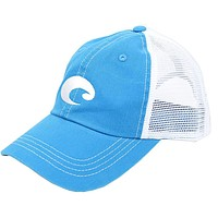 Mesh Hat in Blue Stone by Costa Del Mar