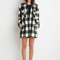 Buffalo Plaid Car Coat