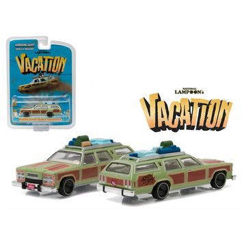 1979 Family Truckster \Wagon Queen\ Honky Lips Version \National Lampoon\s Vacation\ Movie (1983) 1-64 Diecast Model Car by Greenlight