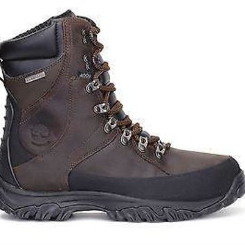 "Timberland Mens 8"" Insulated WP Boot Thorton Dk Brown 5852A"