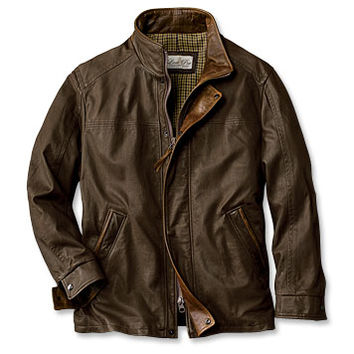 Winter Leather Jacket / Denver Leather Jacket -- Orvis