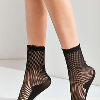 Out From Under Fishnet Crew Sock | Urban Outfitters