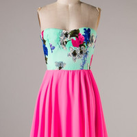 Feeling Romantic Dress - Pink
