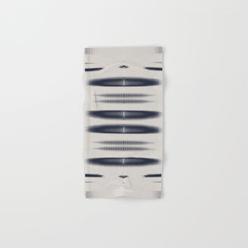Almost Cozy glitch Hand & Bath Towel by duckyb