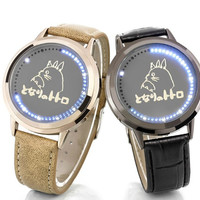 My Neighbor Totoro LED Waterproof PU Leather Watch
