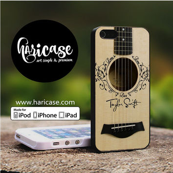 Taylor Swift Guitar iPhone 5 | 5S | SE Cases haricase.com