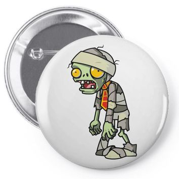 plants vs zombies Pin-back button