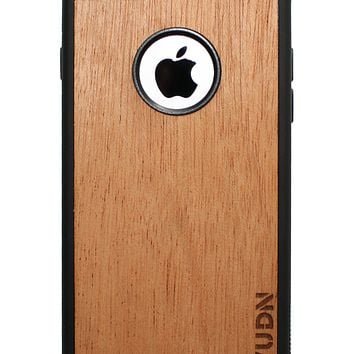 Slim Wooden Apple Cut-out Case Phone Case