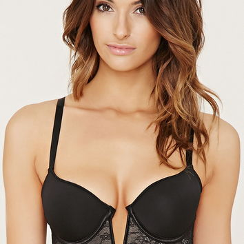 Lace Push-Up Bustier | Forever 21 - 2000178530