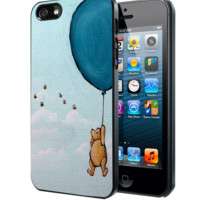 Vintage Winnie the Pooh balloon Samsung Galaxy S3 S4 S5 Note 3 , iPhone 4 5 5c 6 Plus , iPod 4 5 case