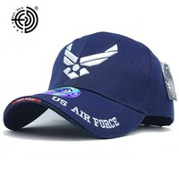 [HAN WILD] Brand USAF Tactical Baseball Cap Mountaineer Caps Casual Air Force Cap Men Women Beisebol Snapback USA Army Hat