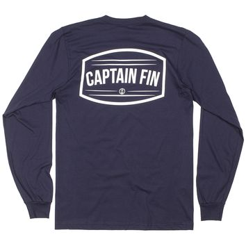 Captain Fin Hold Fast Mens Longsleeve