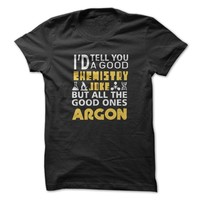 Chemistry Jokes Argon