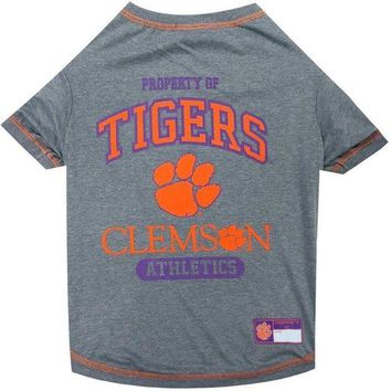 ESBONI Clemson Tigers Pet T-Shirt