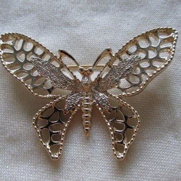 SARAH COVENTRY 1960s-70s Butterfly Pin