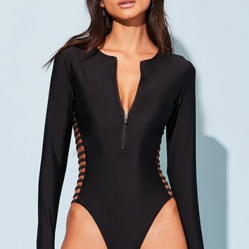 Ladder Cutout One-Piece Swimsuit