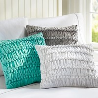 Pretty Poms Pillow Cover