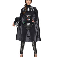 Star Wars Darth Vader Jumpsuit Adult Womens Costume – Spirit Halloween