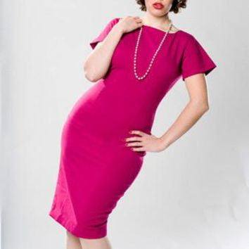 Oh Carol Pencil Dress  - Custom Sizing