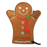 Gingerbread Man Oven Mitt