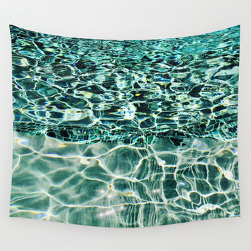 Swimmingly Wall Tapestry by Yuval Ozery