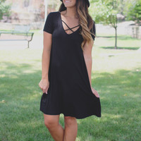 Coffee Break Dress - Black