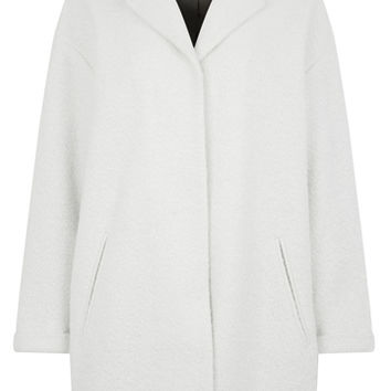LUCY CONTRAST COLLAR DUSTER