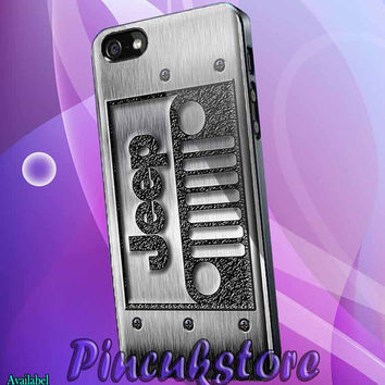 iPhone 4/4S/5/5S/5C, Samsung Galaxy S3/S4, htc One X/x+/S Case, iPod Touch 4/5 Steampunk Classic Jeep Wrangler logo 2