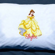 Personalized  Disneys Princess Belle from Beauty and the Beast custom Pillowcase