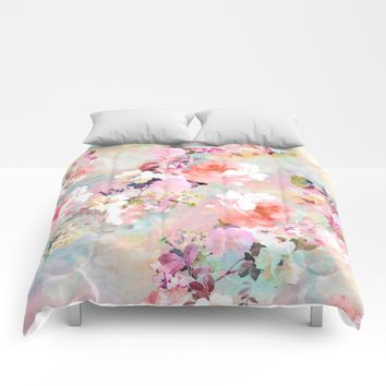 Love of a Flower Comforters by Girly Trend