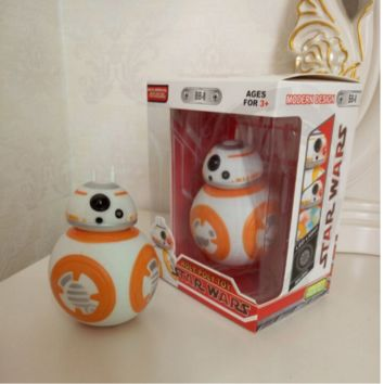 Star Wars The Force Awakens BB8 BB-8 Droid Robot Action Figure 5""