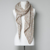 TWO-TONE KNITTED SCARF - Scarves - Accessories - Woman - ZARA United States