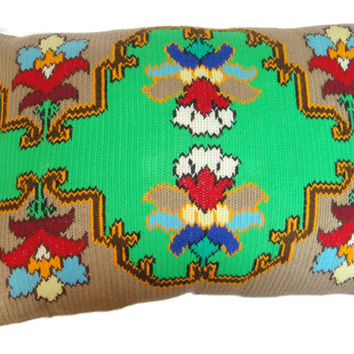 Vintage HandMade embroidered child's pillowcase. Never used. FREE Shipping!