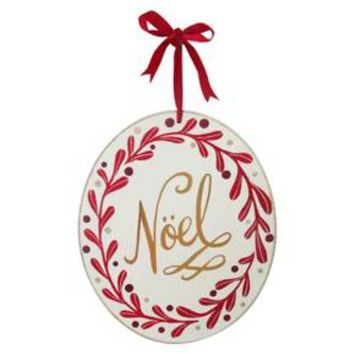 13'' Noel Round Hanging Sign - Wondershop™