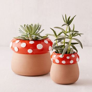 Mushroom Planter | Urban Outfitters