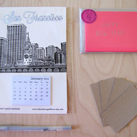 Happy New Year San Francisco Stationery Holiday Combo Pack