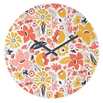 Heather Dutton Betty Round Clock