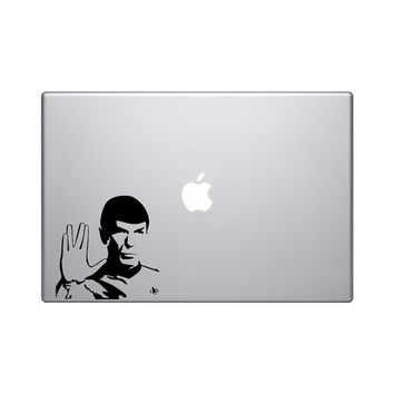 "Spock Star Trek vinyl decal 6"" sticker spock sticker spock decal"