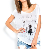 Life Is Better When You Dance Top