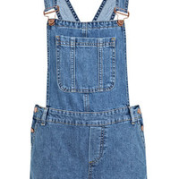 Petites Denim Dungaree - Jeans & Denim  - Apparel