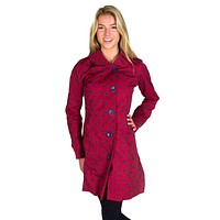 Red Rain Coat  with Blue Polka Dots by Hatley - FINAL SALE