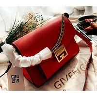 Givenchy 2019 new female personality personality wild chain bag shoulder bag Red