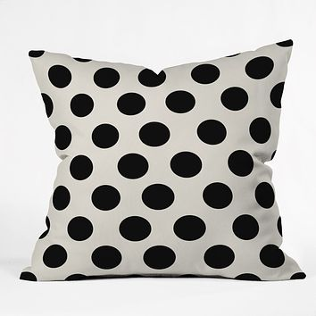 Allyson Johnson Classiest Cream Throw Pillow